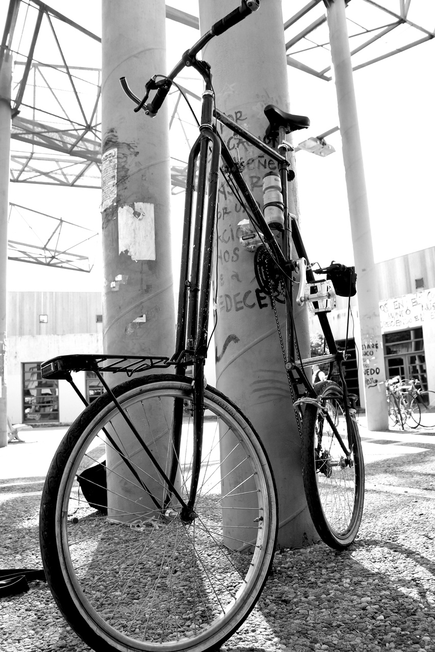 bicicleta ensamblada desobediencia tecnológica